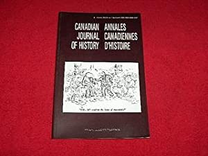 Canadian Journal of History [Volume XXXVII, Number 1, April 2002]