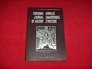 Canadian Journal of History [Volume XXXIX, Number 3, December 2004]