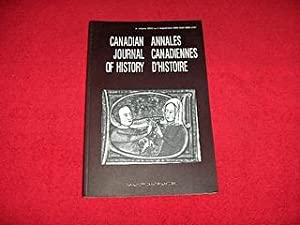 Canadian Journal of History [Volume XXXV, Number 2, August 2000]