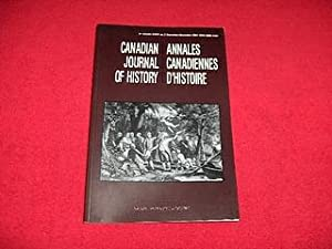 Canadian Journal of History [Volume XXXVI, Number 3, December 2001]