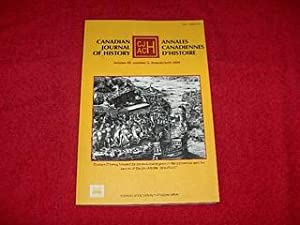 Canadian Journal of History [Volume 40, Number 2, August 2005]