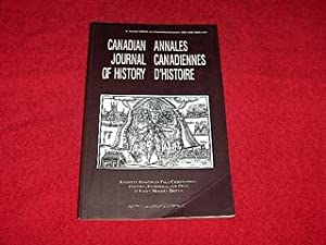 Canadian Journal of History [Volume 38, Number 3, December 2003]