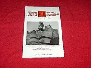 Canadian Journal of History [Volume 43, Number 3, Winter 2008]