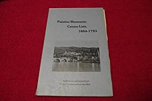 Palatine Mennonite Census List, 1664-1793: Guth, Hermann; Guth,