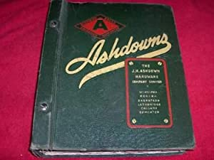 Ashdown's Catalogues