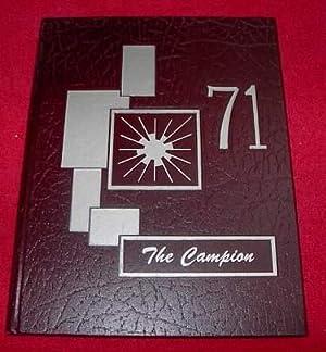 The Campion : Campion High School, Regina, Saskatchewan Yearbook 1971: None Credited