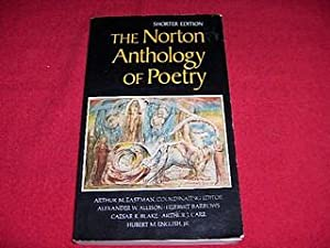 The Norton Anthology of Poetry [Shorter Edition]: Eastman, Arthur M/