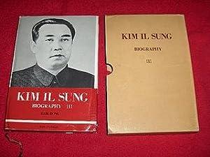 Kim Il Sung Biography [Volume III] : Bong, Baik