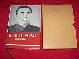 Kim Il Sung Biography [Volume I] : Bong, Baik