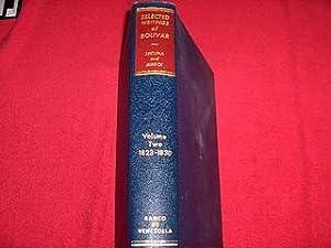 Selected Writings of Bolivar [Volume Two : Bolivar; Lecuna, Vicente