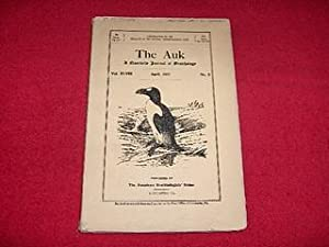 The Auk : A Quarterly Journal of Ornithology [Vol. XLVIII, April 1931, No. 2]
