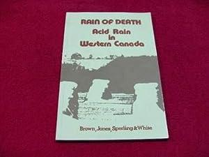 Rain of Death : Acid Rain in: Brown, Caroline; Jones,