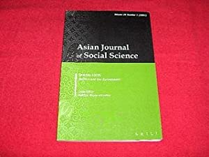 Asian Journal of Social Science [Volume 29, Number 1, 2001] : Special Focus : Politics and the En...