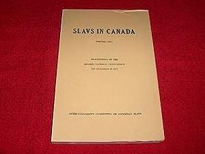 Slavs in Canada [Volume II] : Proceedings: Bida, C. [Editor]