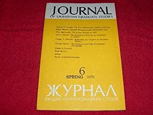 Journal of Ukrainian Studies [6: Spring 1979]