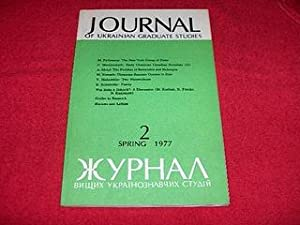 Journal of Ukrainian Studies [2: Spring 1977]