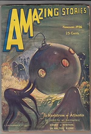 "The Maelstrom of Atlantis"" in Amazing Stories, Vol. 10, no. 8.: AMAZING STORIES] SKIDMORE, ..."
