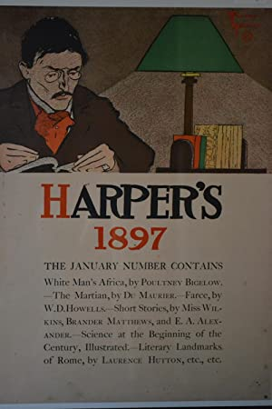 Harper's 1897. [Promotional poster for the January Number]: PENFIELD, Edward.
