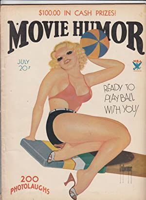 Movie Humor. Hollywood Girls and Gags! Vol. 1, no. 3.: QUINTANA, George [cover artist]. REESE, M. R...