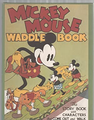 Mickey Mouse Waddle Book: Staff of Walt