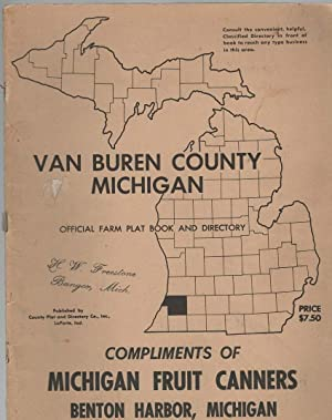 Van Buren County Michigan Official Farm Plat: County Plat and