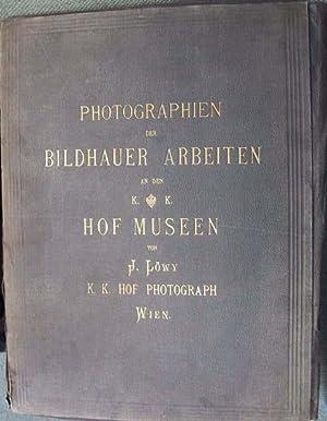 PHOTOGRAPHIEN DER BILDHAUER ARBEITEN AN DEN K.: LOWY, J. (COURT