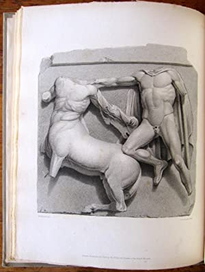 Engravings from the Ancient Marbles in the British Museum. Part VII. Metopes of the Parthenon.: ...