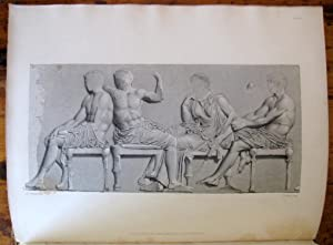 Engravings from the Ancient Marbles in the British Museum. Part VIII. Frieze of the Parthenon.: ...