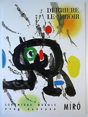 Derriere le Miroir. No. 123.: Miro