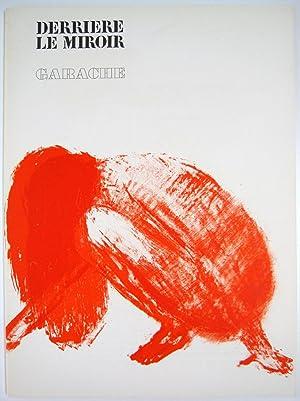 Derriere le Miroir. No. 213: Claude Garache