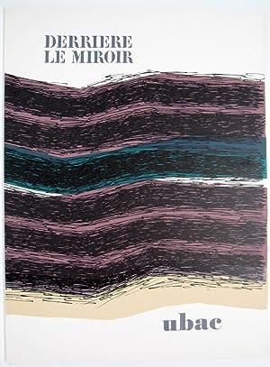 Derriere le Miroir. No. 196: Raoul Ubac