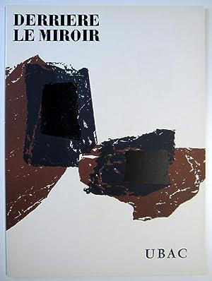 Derriere le Miroir. No. 105-106: Raoul Ubac