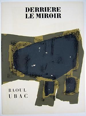 Derriere le Miroir. No. 74-75-76: Raoul Ubac