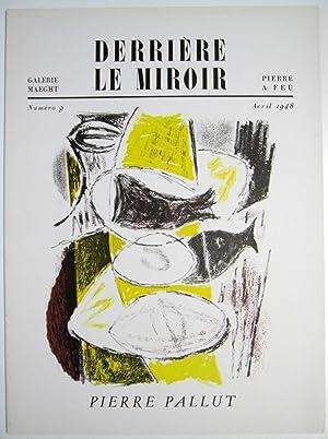 Derriere le Miroir. No. 9: Pierre Pallut