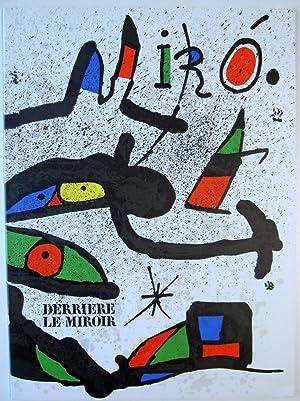 Derriere le Miroir. No. 231: Joan Miro