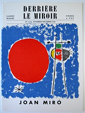 Derriere le Miroir. No. 14-15: Miro