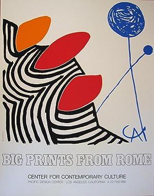 """Alexander Calder Poster: """"Big Prints from Rome"""": Alexander Calder"""