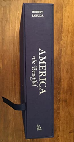 America the Beautiful. Pop-up. Limited Edition.: Robert Sabuda