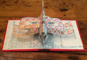 The Book Art Project: Flying to the Roof of Time. Limited Edition Pop-up.: Paul Johnson