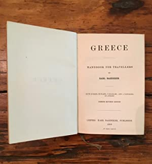 Baedeker's Greece: Handbook for Travellers.: Karl Baedeker