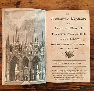 Gentleman's Magazine. Part the Second. July-Dec 1814. Volume XXIV.: Sylvanus Urban