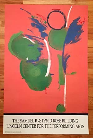 """Helen Frankenthaler Poster: """"Mary Mary"""": Helen Frankenthaler"""