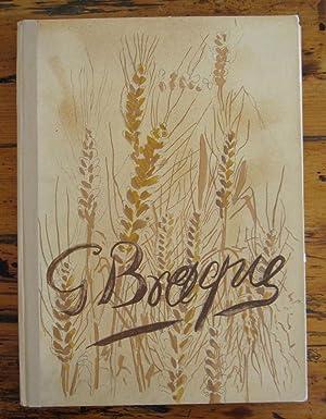 The Intimate Sketchbooks of G. Braque. Verve. Volume VIII. no. 31 & 32: Georges Braque