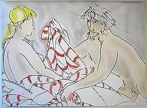 Hommage a Manzu. XXe Siecle. No. 58. 1984.: Giacomo Manzu