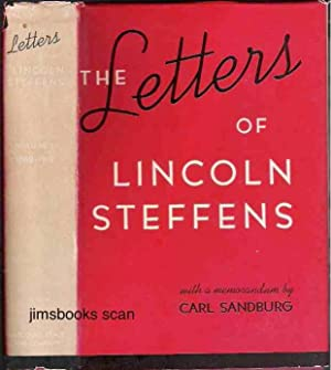 The Letters Of Lincoln Steffens 2 vols: Steffens, Lincoln (Ella
