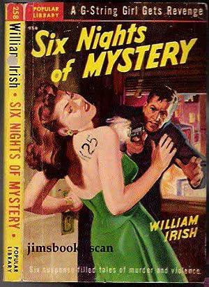 Six Nights of Mystery: Irish, William (Woolrich)