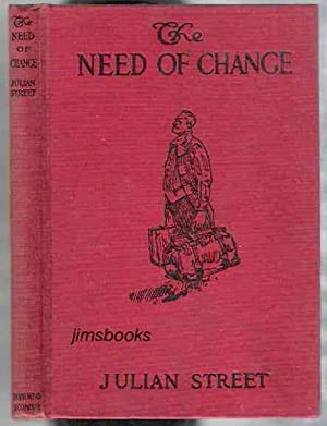 The Need Of Change SIGNED INSCRIBED copy: Street, Julian