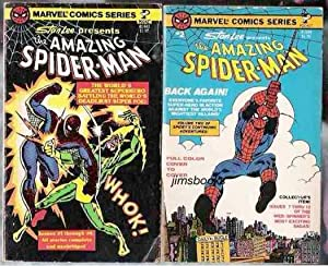 Stan Lee Presents The Amazing Spider Man vol 1 (issues 1 -6) and vol 2 (issues 7 - 13) 2 paperbac...