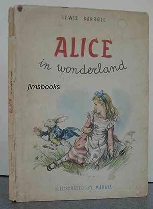 Alice In Wonderland illus Maraja: Carroll, Lewis