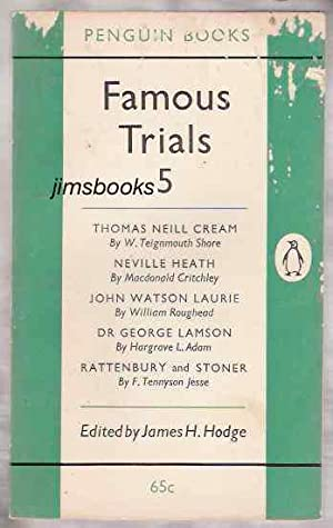 Famous Trials 5 (Fifth Series): Hodge, James H